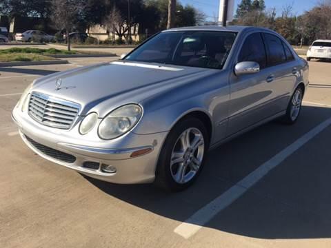2006 Mercedes-Benz E-Class for sale at Safe Trip Auto Sales in Dallas TX