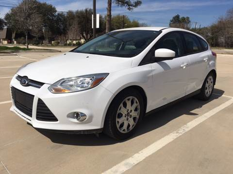 2012 Ford Focus for sale at Safe Trip Auto Sales in Dallas TX