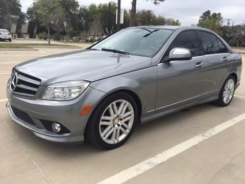 2008 Mercedes-Benz C-Class for sale at Safe Trip Auto Sales in Dallas TX
