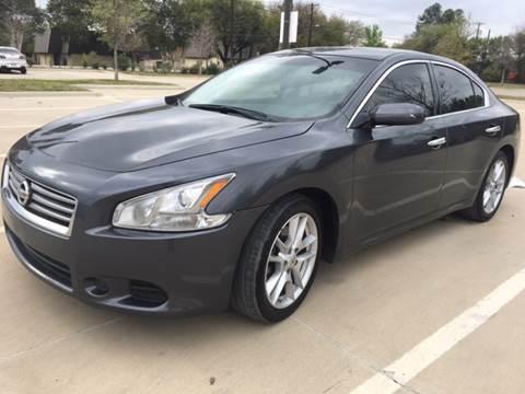 2013 Nissan Maxima for sale at Safe Trip Auto Sales in Dallas TX