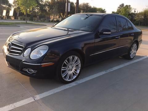 2008 Mercedes-Benz E-Class for sale at Safe Trip Auto Sales in Dallas TX