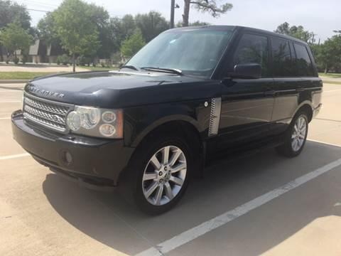2006 Land Rover Range Rover for sale at Safe Trip Auto Sales in Dallas TX