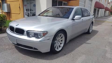 2004 BMW 7 Series for sale in Miami, FL