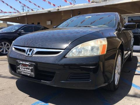 2007 Honda Accord for sale at ADVANTAGE AUTO SALES INC in Bell CA