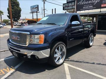2010 GMC Sierra 1500 for sale at ADVANTAGE AUTO SALES INC in Bell CA
