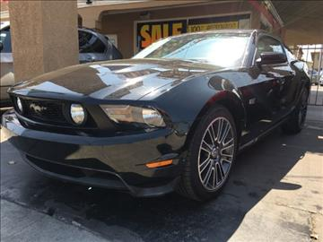 2010 Ford Mustang for sale at ADVANTAGE AUTO SALES INC in Bell CA
