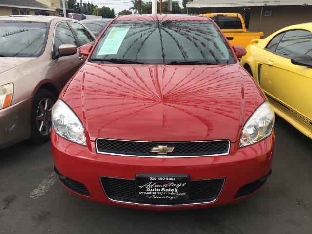 Impala Ss 2008 Red