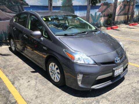 2014 Toyota Prius Plug-in Hybrid for sale at ADVANTAGE AUTO SALES INC in Bell CA