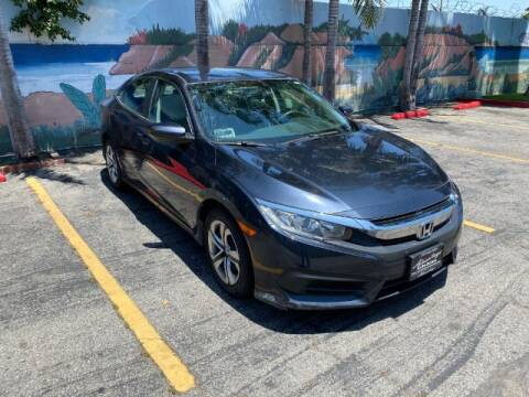 2017 Honda Civic for sale at ADVANTAGE AUTO SALES INC in Bell CA