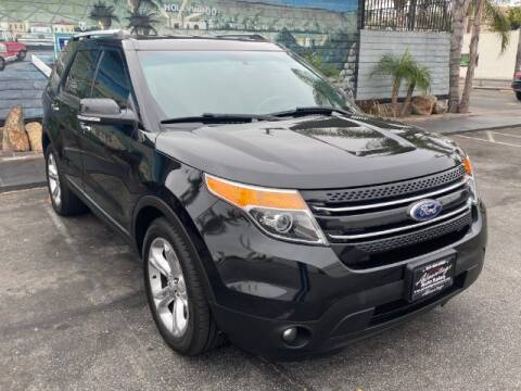 2015 Ford Explorer for sale at ADVANTAGE AUTO SALES INC in Bell CA