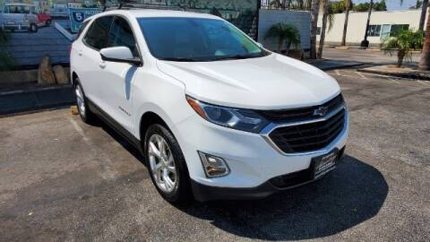 2018 Chevrolet Equinox for sale at ADVANTAGE AUTO SALES INC in Bell CA