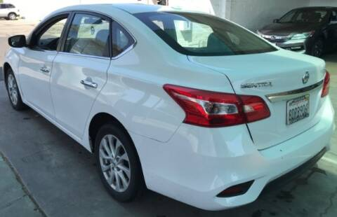 2018 Nissan Sentra for sale at ADVANTAGE AUTO SALES INC in Bell CA