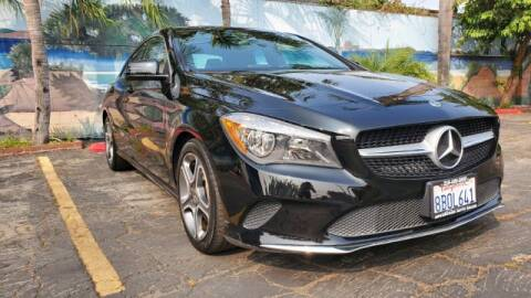 2018 Mercedes-Benz CLA for sale at ADVANTAGE AUTO SALES INC in Bell CA