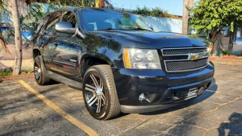 2011 Chevrolet Tahoe for sale at ADVANTAGE AUTO SALES INC in Bell CA