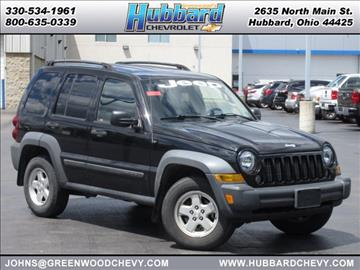 2007 Jeep Liberty for sale in Hubbard, OH