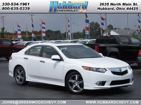 2013 Acura TSX for sale in Hubbard, OH