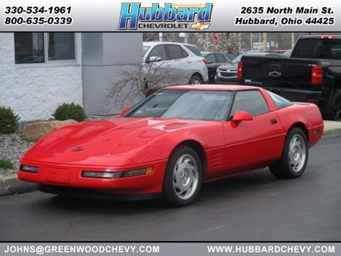 1993 Chevrolet Corvette for sale in Hubbard, OH