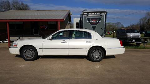 2007 Lincoln Town Car for sale in Henderson, TX