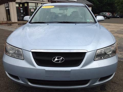 2008 Hyundai Sonata for sale in Jeffersonville PA