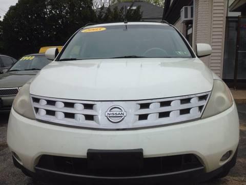 2005 Nissan Murano for sale in Jeffersonville, PA