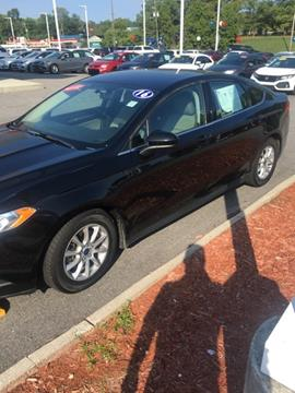 2016 Ford Fusion for sale in Florence, SC