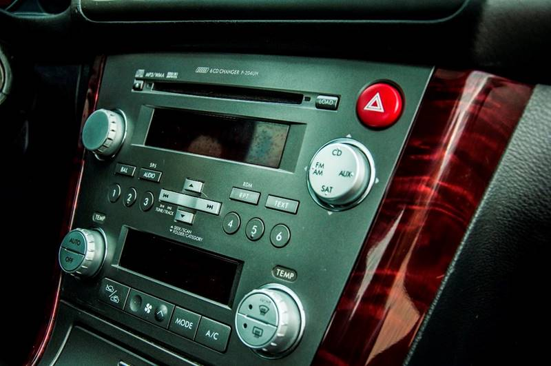 2007 Subaru Legacy Awd 25 Gt Limited 4dr Sedan 25l F4 5m In Rhzautomotiveva: 2007 Subaru Legacy Audio At Gmaili.net