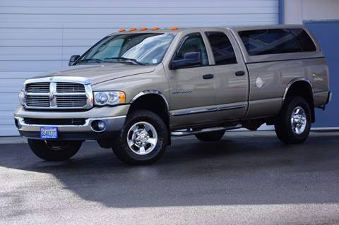 2005 Dodge Ram Pickup 3500 for sale in Des Moines, WA