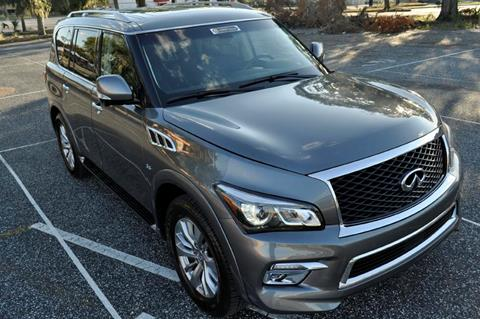 2017 Infiniti QX80 for sale at Supreme Automotive in Land O Lakes FL