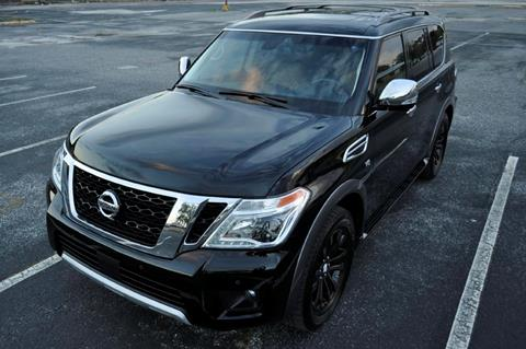 2017 Nissan Armada for sale at Supreme Automotive in Land O Lakes FL