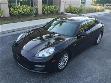 2011 Porsche Panamera for sale at Supreme Automotive in Land O Lakes FL