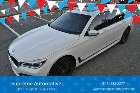 2017 BMW 7 Series for sale at Supreme Automotive in Land O Lakes FL