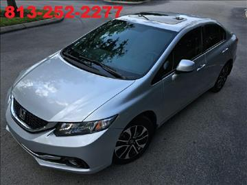 2013 Honda Civic for sale at Supreme Automotive in Land O Lakes FL