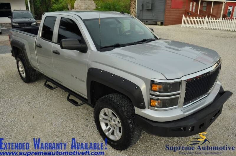 2014 Chevrolet Silverado 1500 for sale at Supreme Automotive in Land O Lakes FL