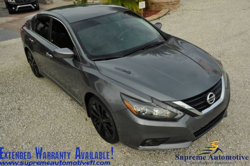 2017 Nissan Altima for sale at Supreme Automotive in Land O Lakes FL