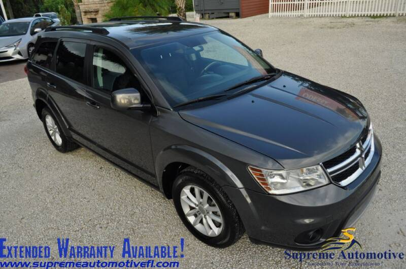 2015 Dodge Journey for sale at Supreme Automotive in Land O Lakes FL