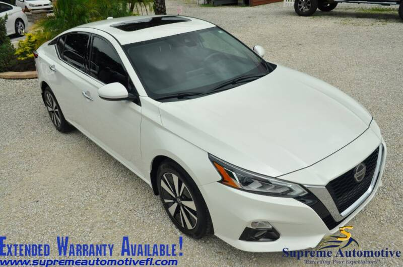 2019 Nissan Altima for sale at Supreme Automotive in Land O Lakes FL