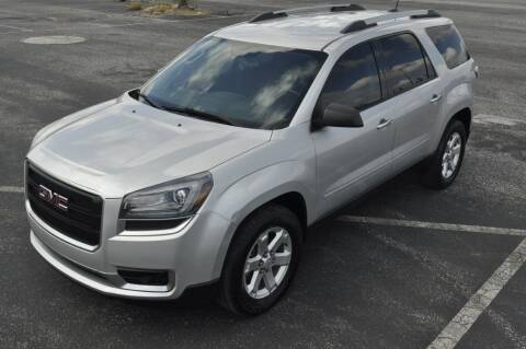 2016 GMC Acadia for sale at Supreme Automotive in Land O Lakes FL