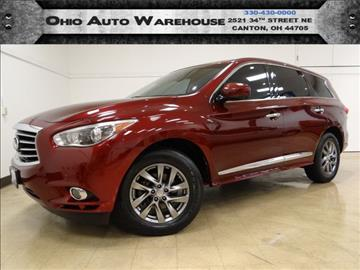 2013 Infiniti JX35 for sale in Canton, OH