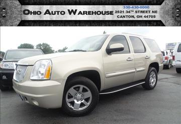 2008 GMC Yukon for sale in Canton, OH