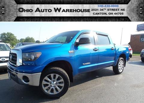 2007 Toyota Tundra for sale at Ohio Auto Warehouse in Canton OH