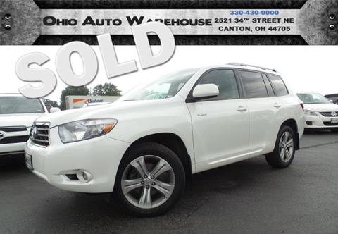 2009 Toyota Highlander for sale at Ohio Auto Warehouse in Canton OH