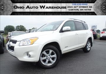 2009 Toyota RAV4 for sale at Ohio Auto Warehouse in Canton OH