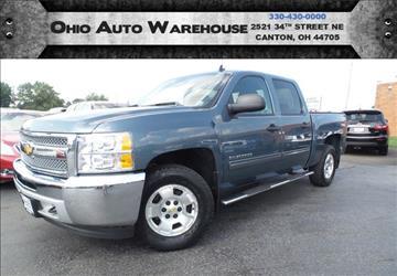 2013 Chevrolet Silverado 1500 for sale at Ohio Auto Warehouse in Canton OH