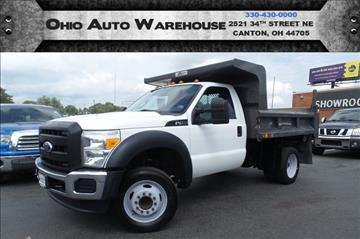 2011 Ford F-450 Super Duty for sale at Ohio Auto Warehouse in Canton OH