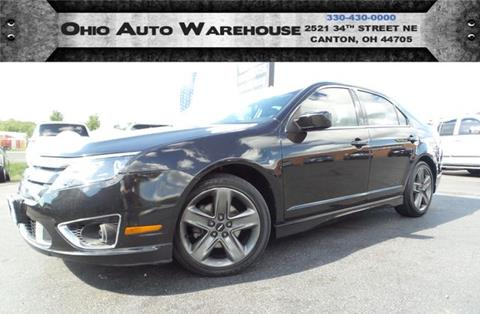 2010 Ford Fusion for sale at Ohio Auto Warehouse in Canton OH