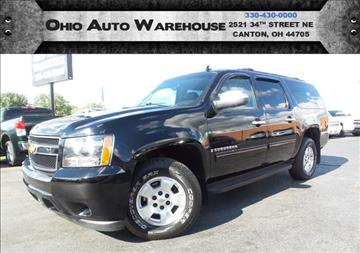 2009 Chevrolet Suburban for sale at Ohio Auto Warehouse in Canton OH