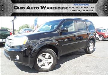 2011 Honda Pilot for sale at Ohio Auto Warehouse in Canton OH