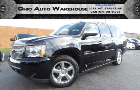 2014 Chevrolet Suburban for sale at Ohio Auto Warehouse in Canton OH