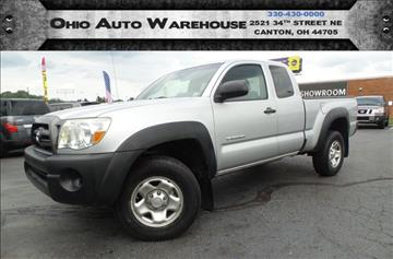 2007 Toyota Tacoma for sale at Ohio Auto Warehouse in Canton OH