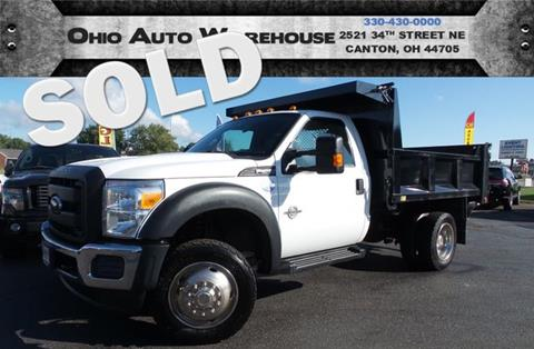 2012 Ford F-550 for sale in Canton, OH